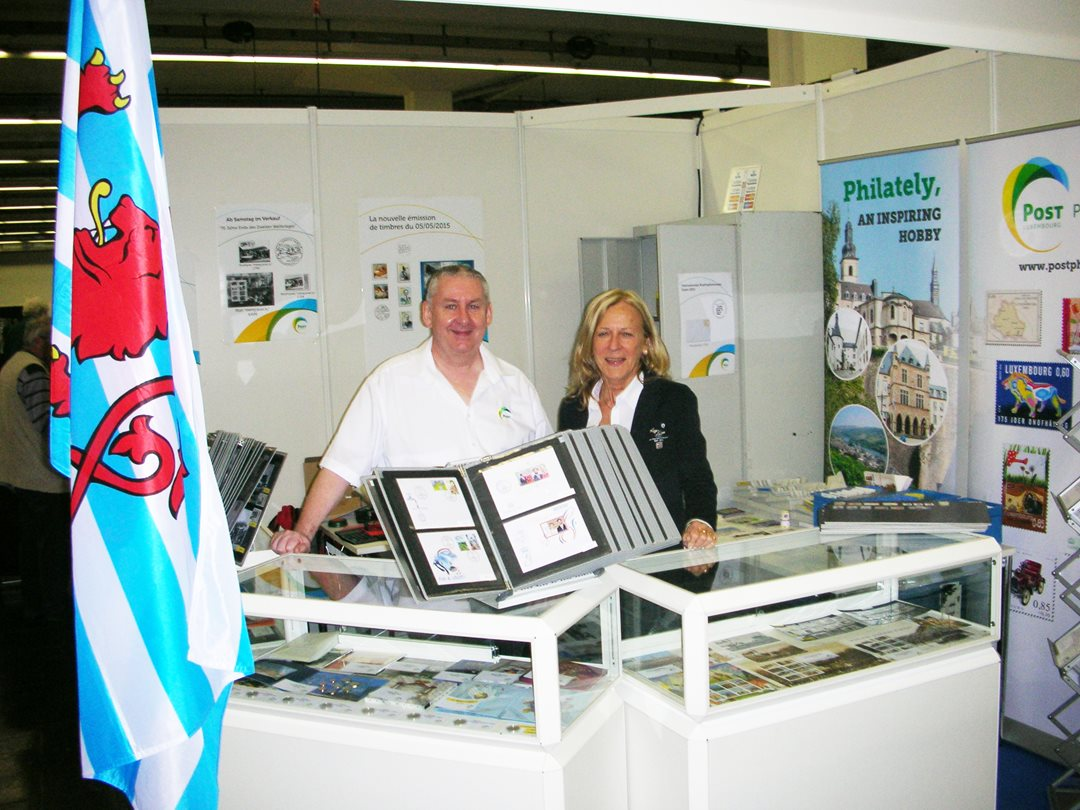 POST Philately at the Essen stamp fair