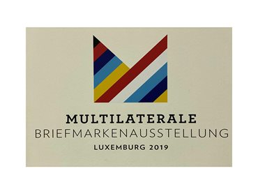Exposition philatélique internationale « Multilaterale Briefmarkenausstellung Luxemburg 2019""