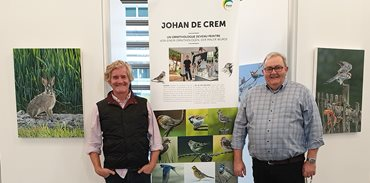 Exhibition of about twenty paintings by Johan de Crem