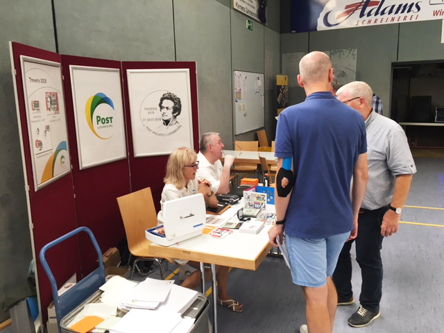 POST Philately participated in the Treveris 2018 exhibition in Trier
